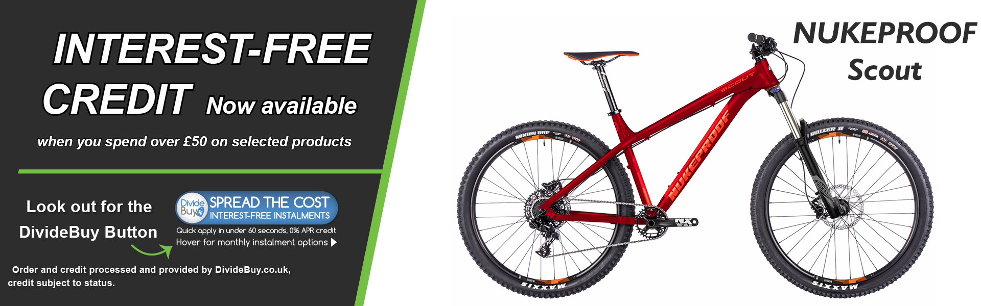 Interest Free Nukeproof scout