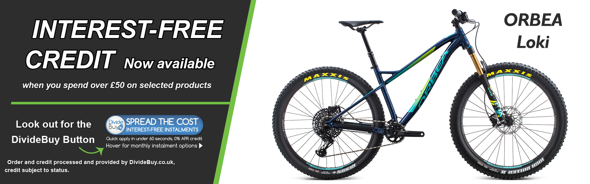 Interest Free Orbea Loki